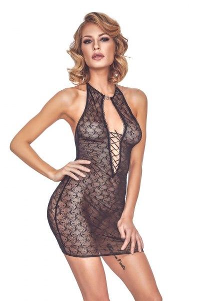 Neckholder-Kleidchen Cylenne